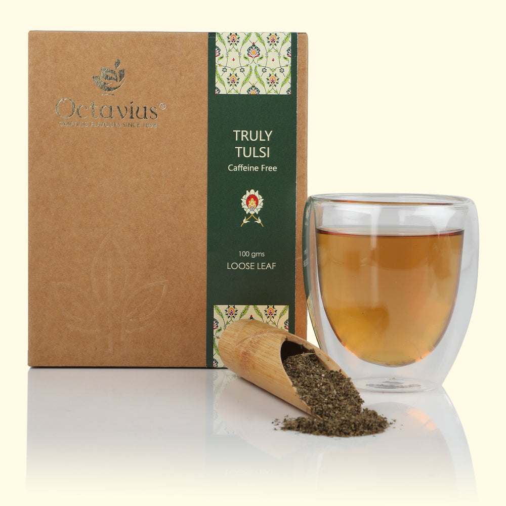 Truly Tulsi Herbal Tea - Caffeine Free