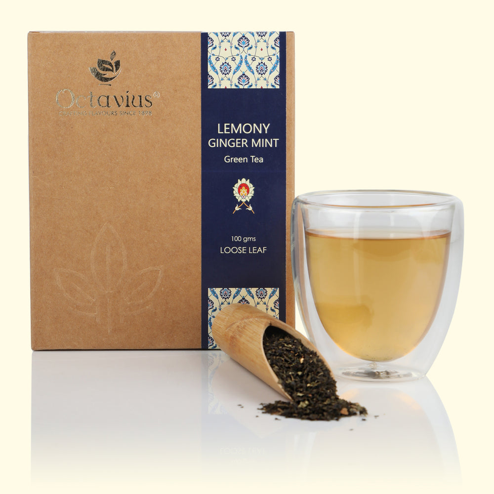 Lemony Ginger Mint Green Loose Leaf Tea