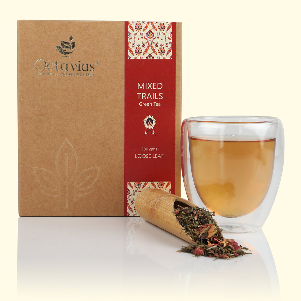 Mixed Trails Green Loose Leaf Tea
