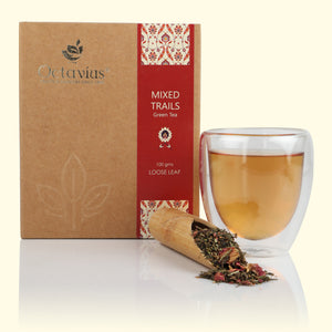 Load image into Gallery viewer, Mixed Trails Green Loose Leaf Tea