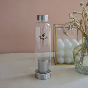 Load image into Gallery viewer, Borosilicate Glass Bottle With Infuser