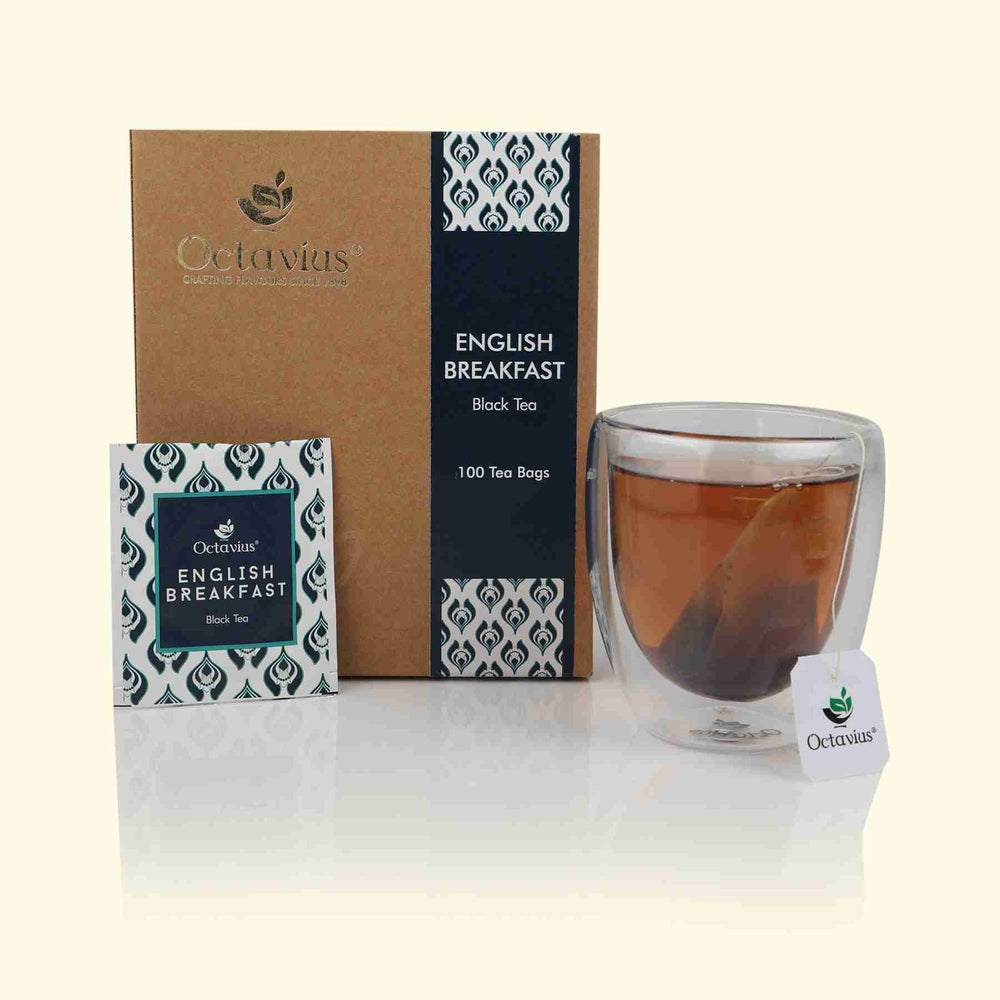 English Breakfast Enveloped Teabags- Economy Pack