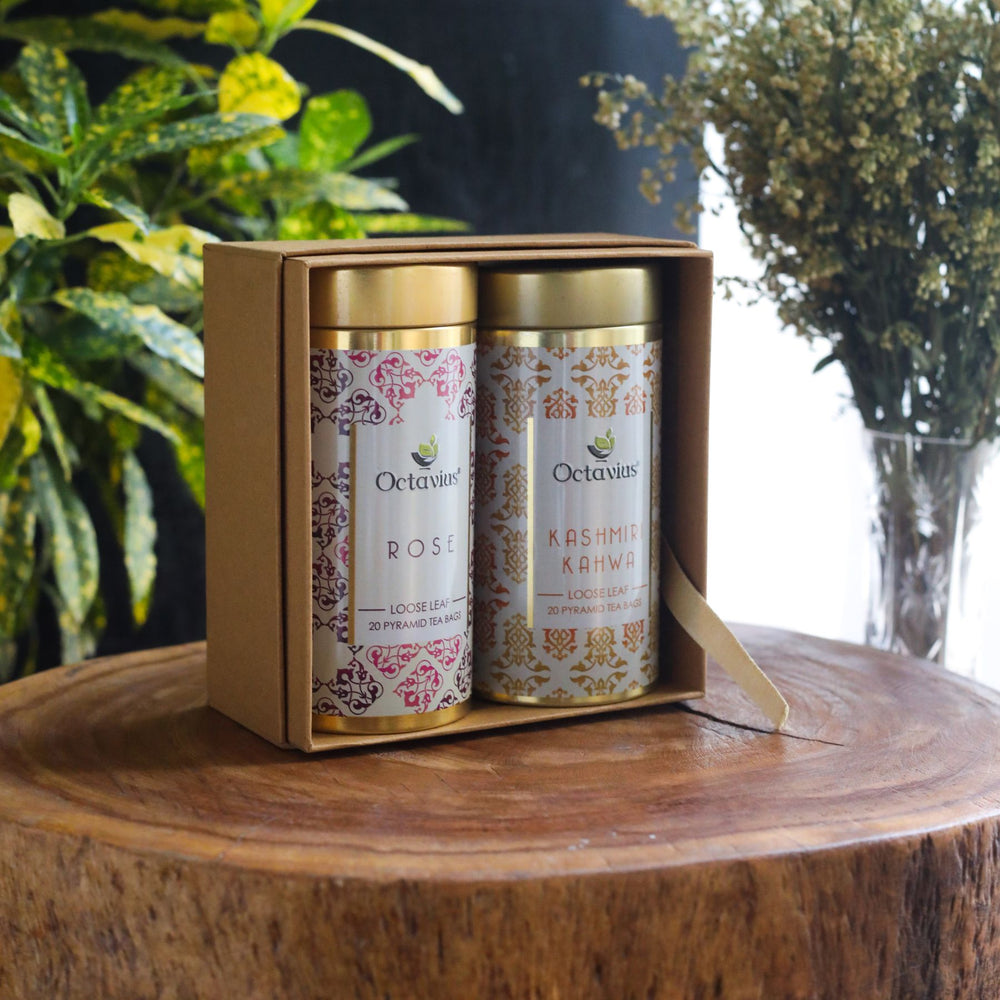 Gourmet Tea Collection-Festive Infusions (2 Tins)