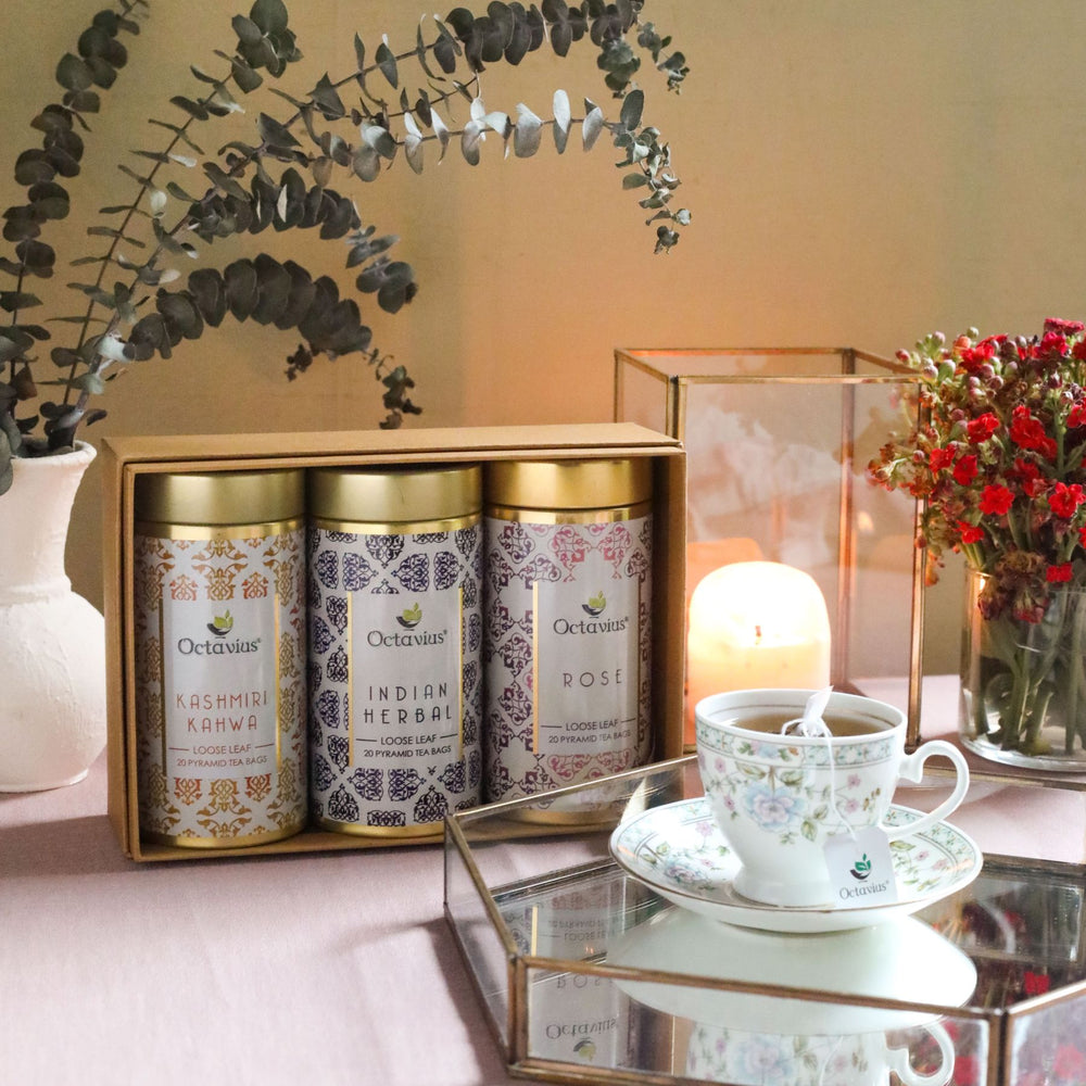 Load image into Gallery viewer, Gourmet Tea Collection-Festive Infusions (3 Tins)