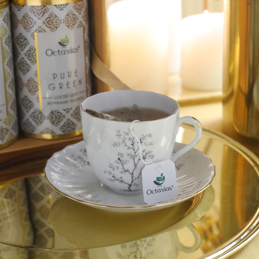 Load image into Gallery viewer, Octavius Gourmet Tea Collection| Immunitea Range - 3 Tins Packed In An Exclusive Gift box