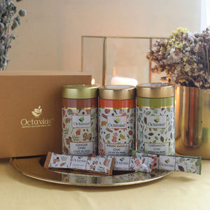 Load image into Gallery viewer, Gourmet Tea Collection-On The Go (3 Tins)