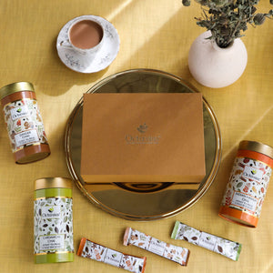 Load image into Gallery viewer, Octavius Gourmet Tea Collection| On The Go Range - 3 Tins Packed In An Exclusive Gift box