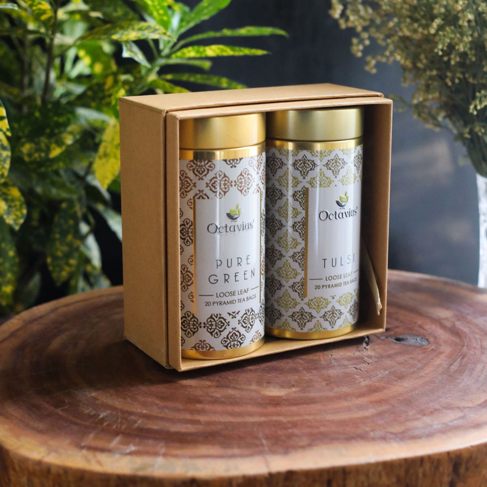 Load image into Gallery viewer, Gourmet Tea Collection-Uplifting Green Infusions (2 Tins)