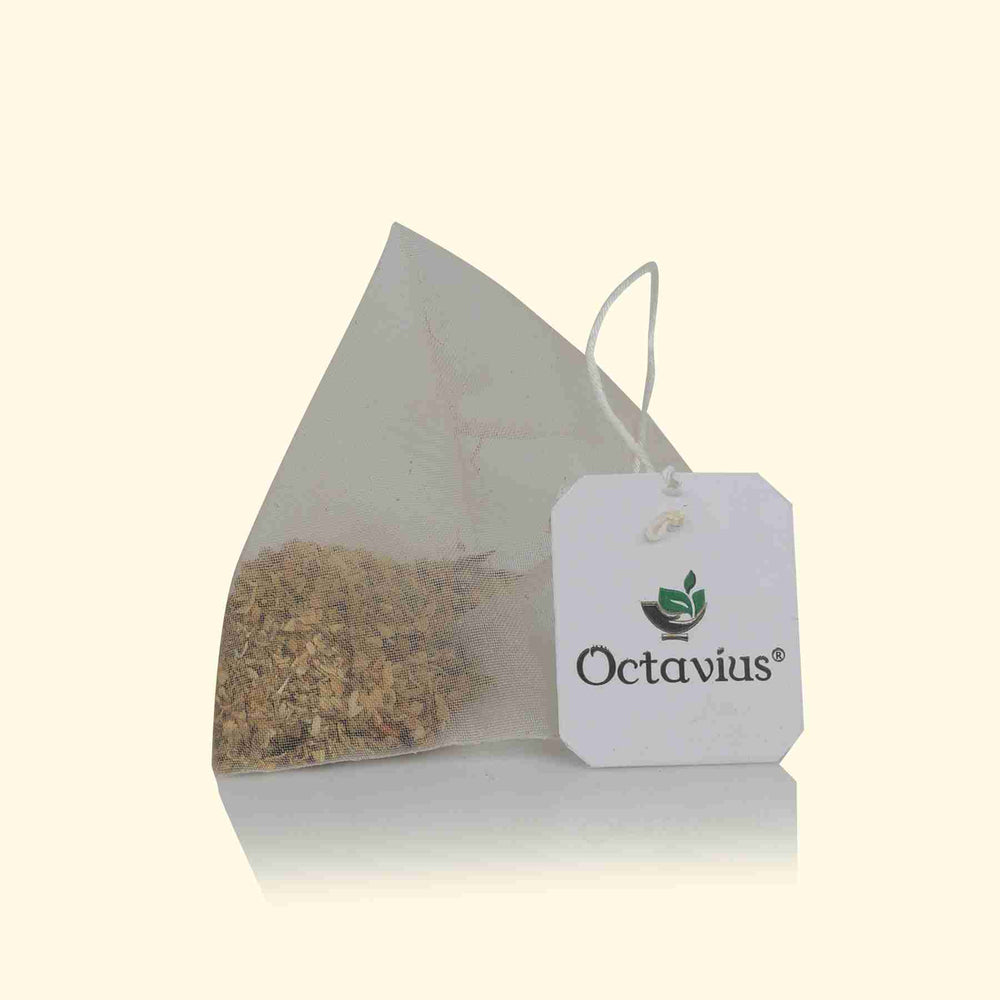 Load image into Gallery viewer, Octavius Indian Herbal Whole Leaf Tea 20 Pyramid Tea Bags