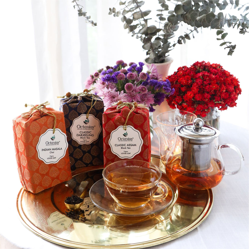 Indian Tea Collection- Festive Range (Indian Masala Chai, Classic Darjeeling, Classic Assam)