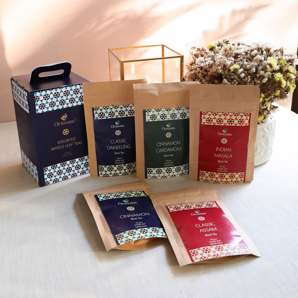 Mini Tea Box- Assorted Black Tea Infusions