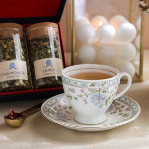 Load image into Gallery viewer, Tea Time Treasure-Tea Lovers Delight (4 Assorted Loose Leaf Green Teas)