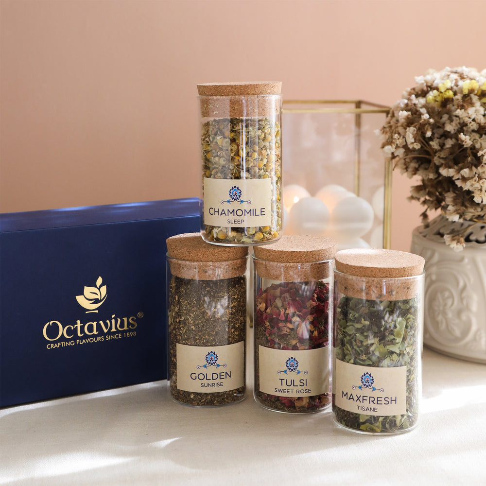Load image into Gallery viewer, Tea Time Treasure-Wellness Infusions  (4 Assorted  Caffeine Free Teas)