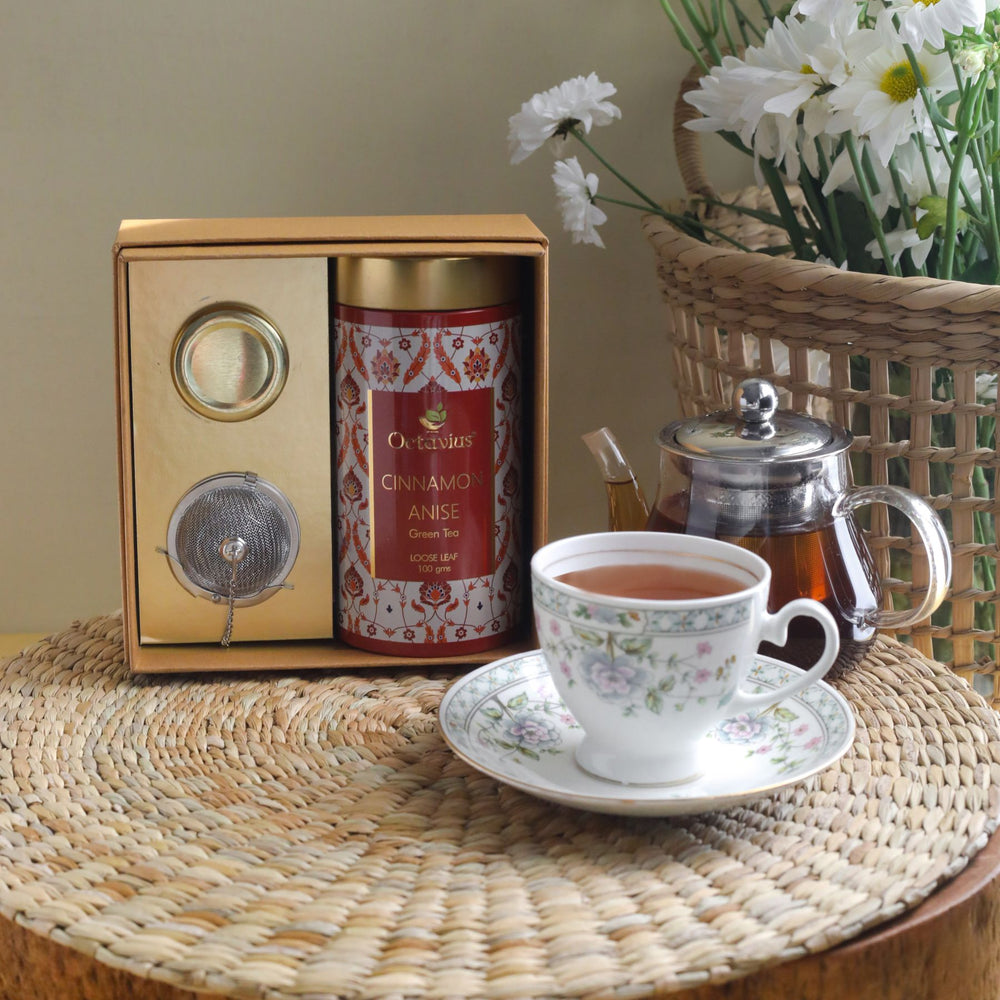 Tea Essentials-Sweet & Spicy Green Tea (Cinnamon & Star Anise)