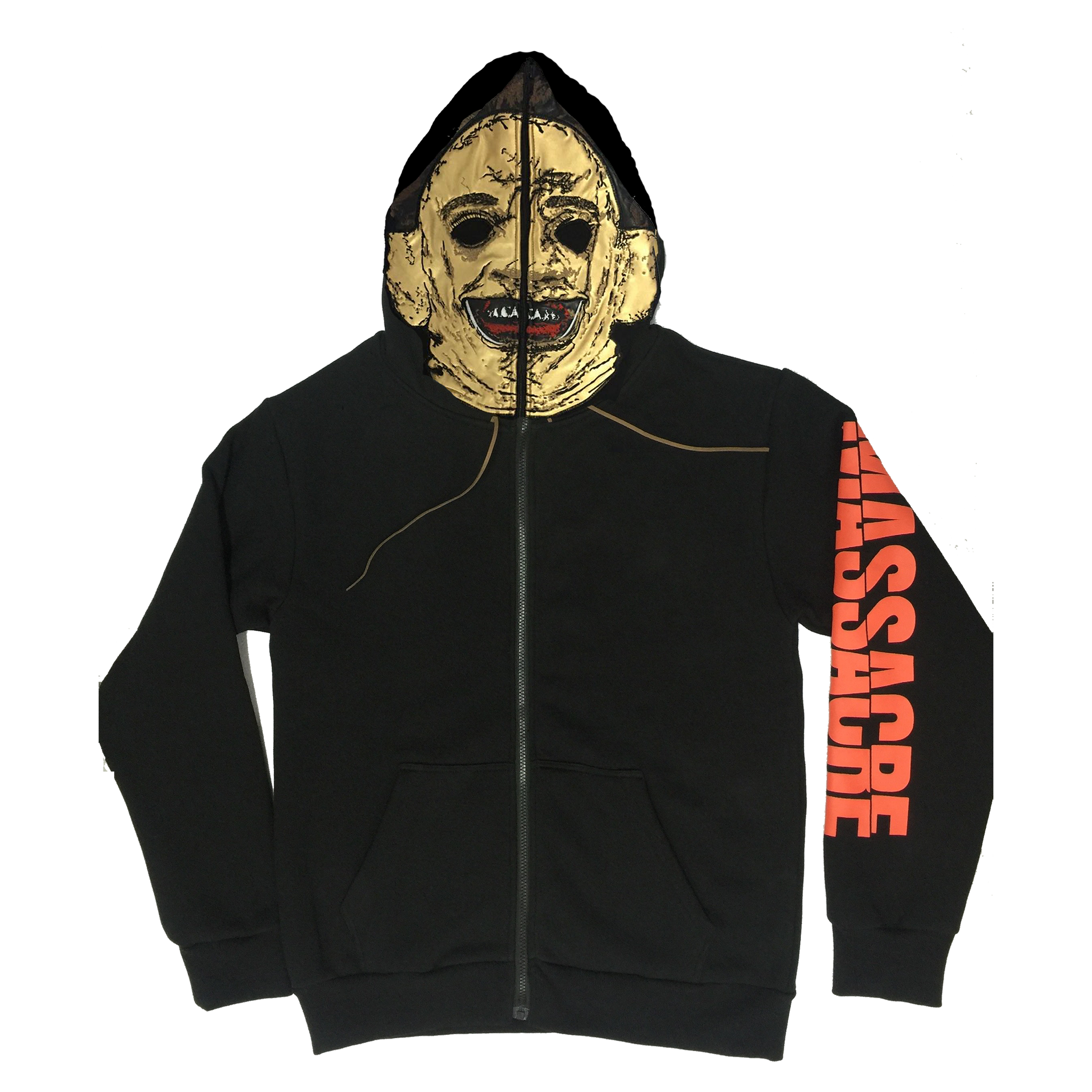 Leatherface Zip Up Hoodie