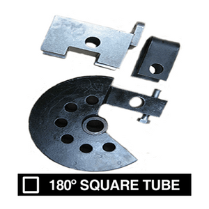 "PN# 456 180-Deg.  Square Tube Die Sets- (3/4"") O.D., 4 "" CLR"