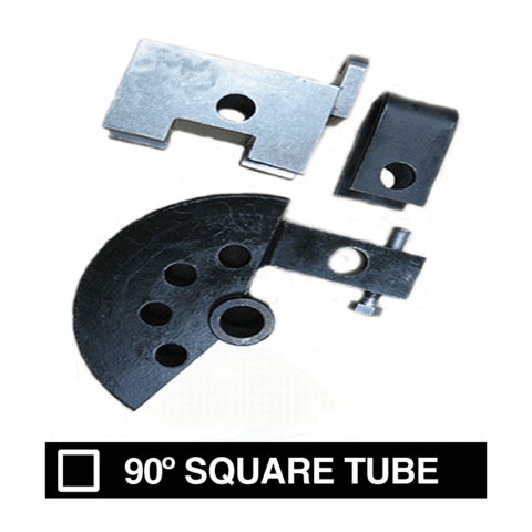 PN# 411 90-Deg. Square Tube Die Sets- (1