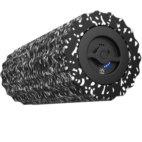 Vibrating Foam Roller - Black - 4 Speeds