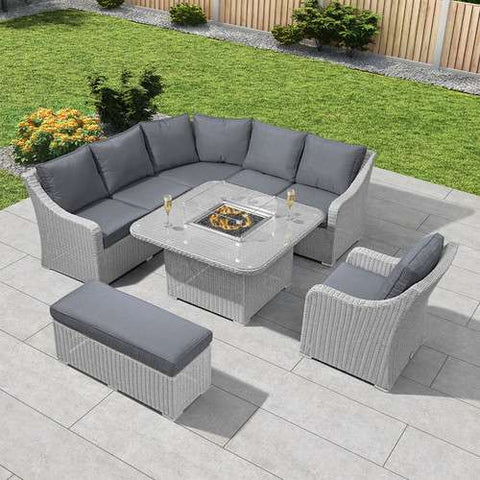 Gas Fire Pit Table Sets