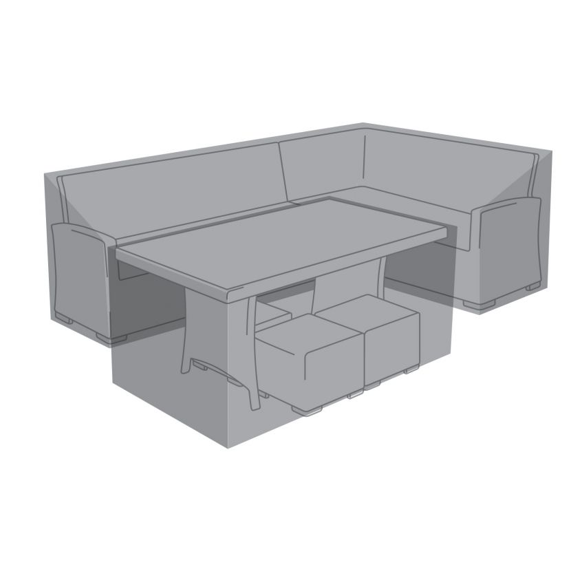 Cover for Right Hand L-Shaped Corner Dining Set