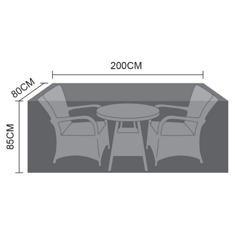 Cover for 2 Seat Bistro Set - 200cm x 80cm x 85cm
