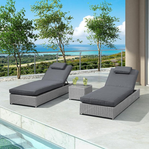 Rhodes Sun Lounger Set