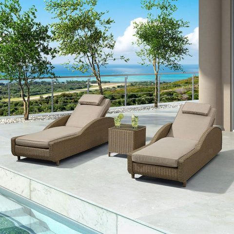 Madison Sun Lounger Set