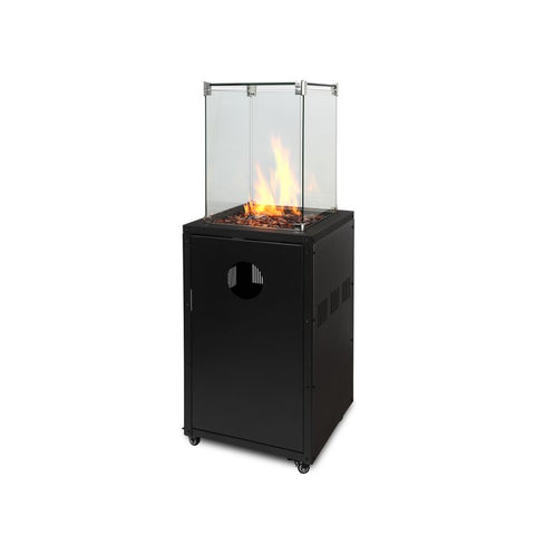 Piza 47cm x 47cm Square Firepit Tower