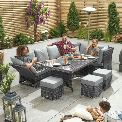 Cambridge Casual Dining Reclining Corner Sofa Set (Right Hand)