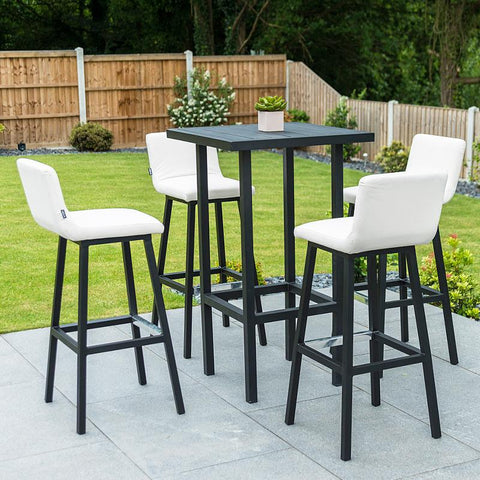 Nova - Chino 4 Seat Outdoor Fabric Bar Set