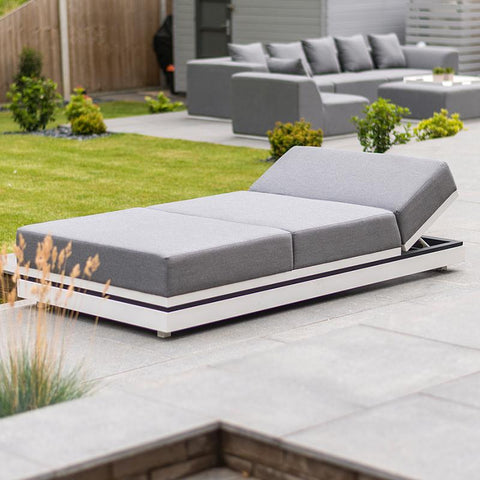 Nova - Sense Outdoor Fabric Lounger - Flanelle