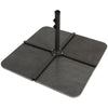 48kg Pack Of 4 Cantilever Base Slabs - Granite