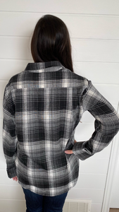 Penelope Plaid button up