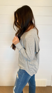 The Ella Essential- Heather Grey