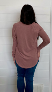 The Sara Tunic- Rose