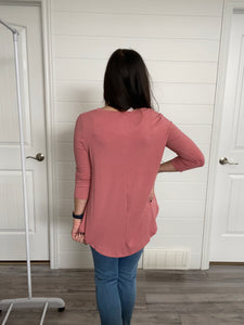 February Pink top