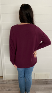 The Amelia Essential- Deep Plum
