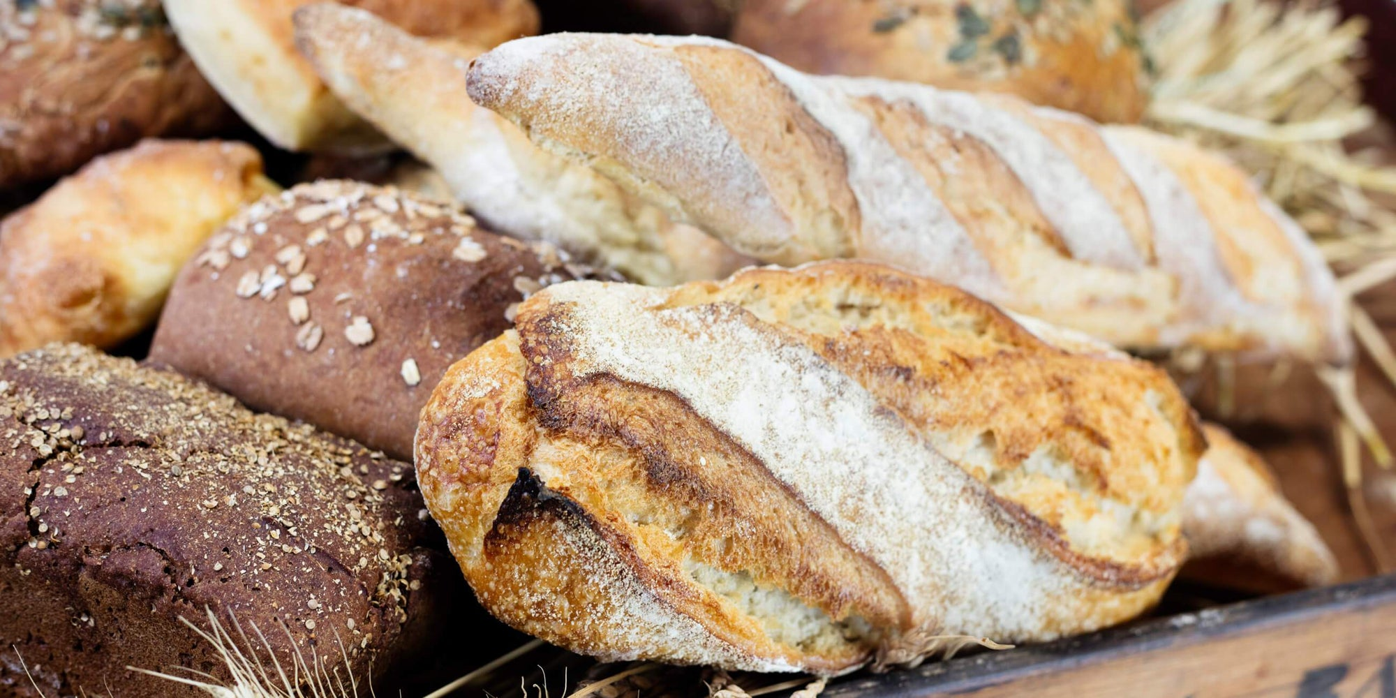 Freshly baked artisan bread by Hambleton Bakery