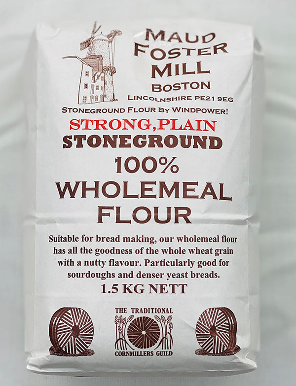 Maud Foster Mill 100% Wholemeal Flour