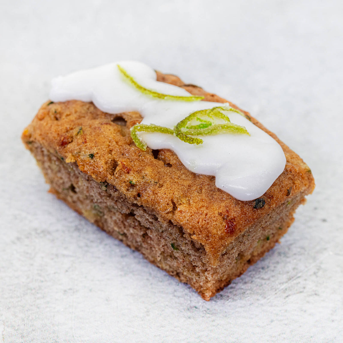 Dairy Free Courgette & Lime Cake by Hambleton Bakery