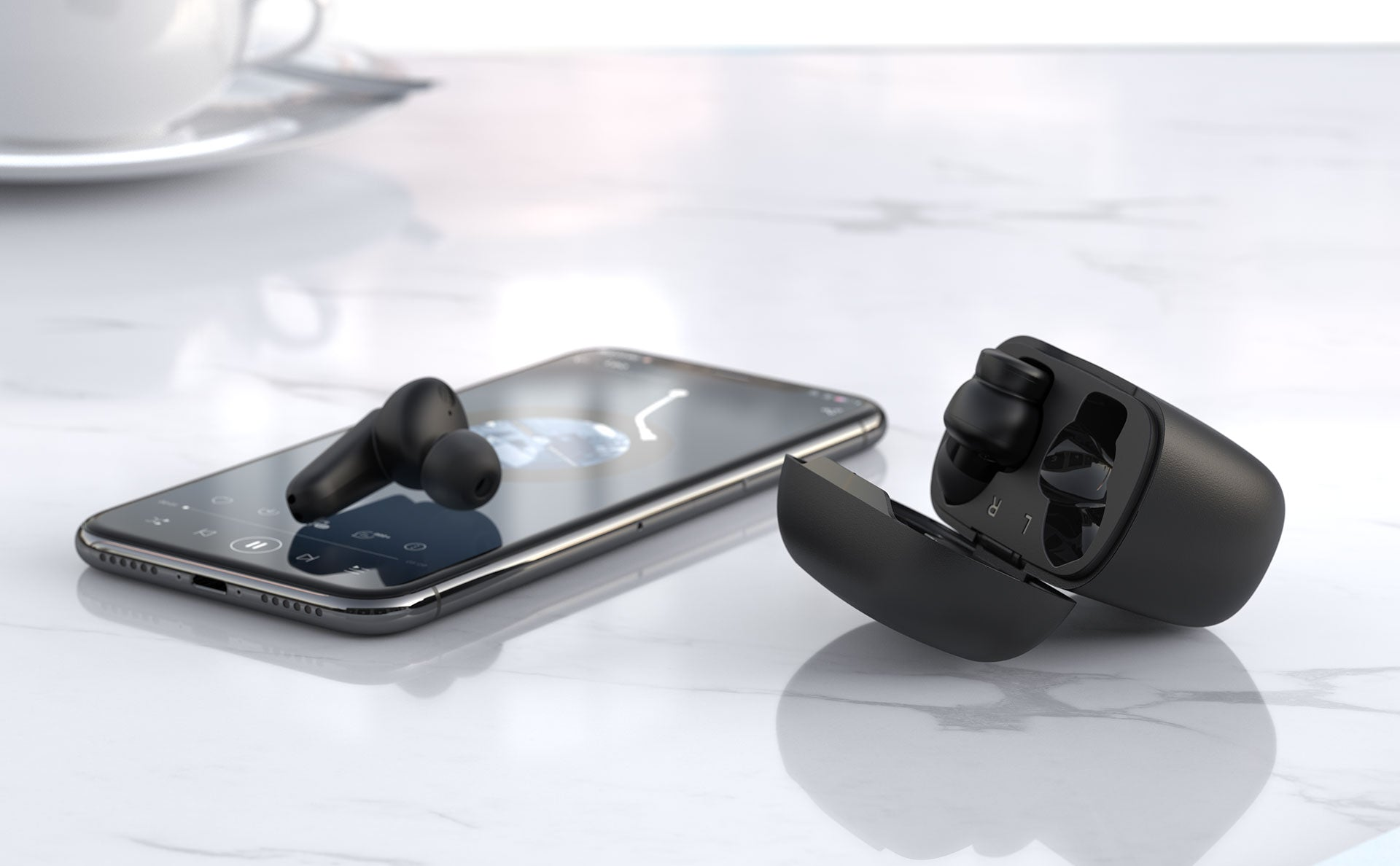 ENACFIRE H500 Wireless Earbuds - real shoot