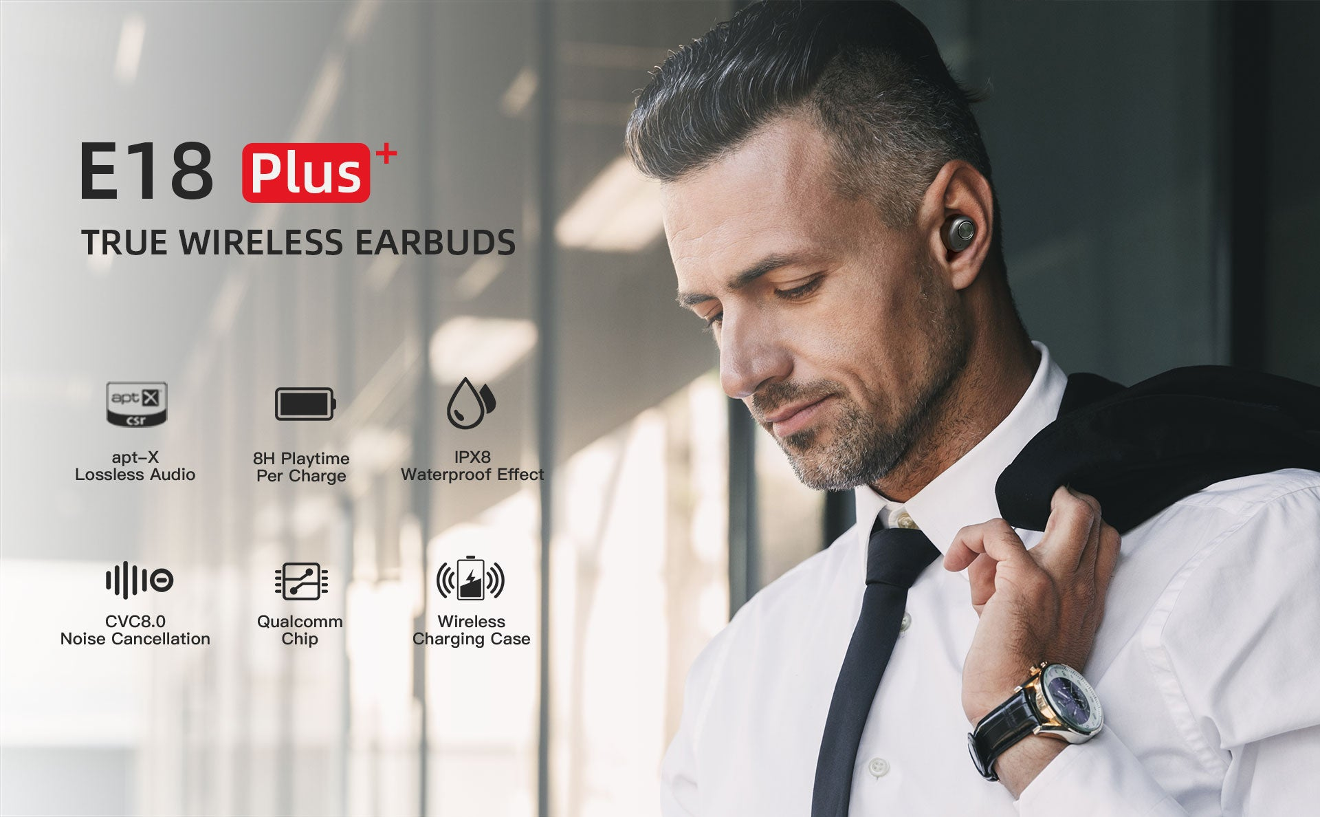 ENACFIRE E18 Plus Wireless Earbuds