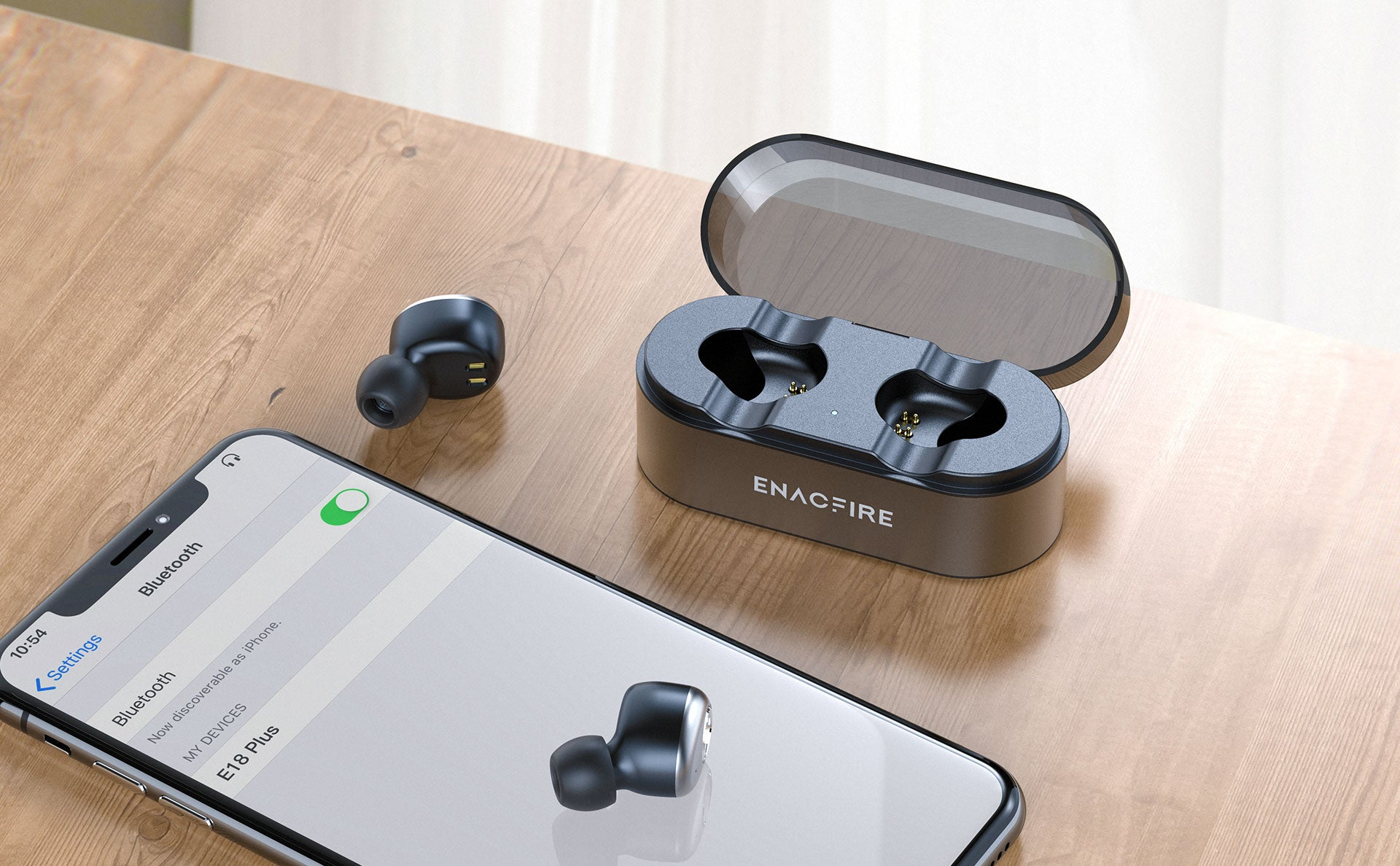 ENACFIRE E18 Plus bluetooth Earbuds