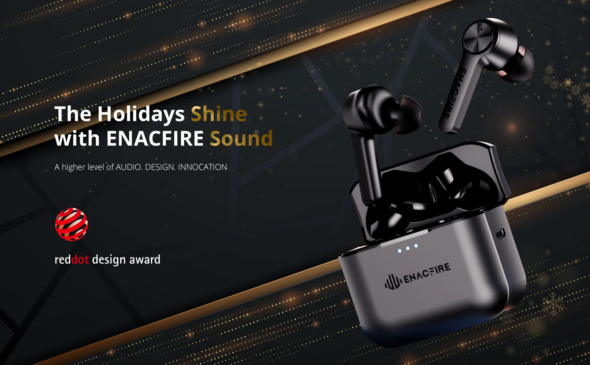 ENACIFRE F2 Wireless Earbuds - a higher level of audio