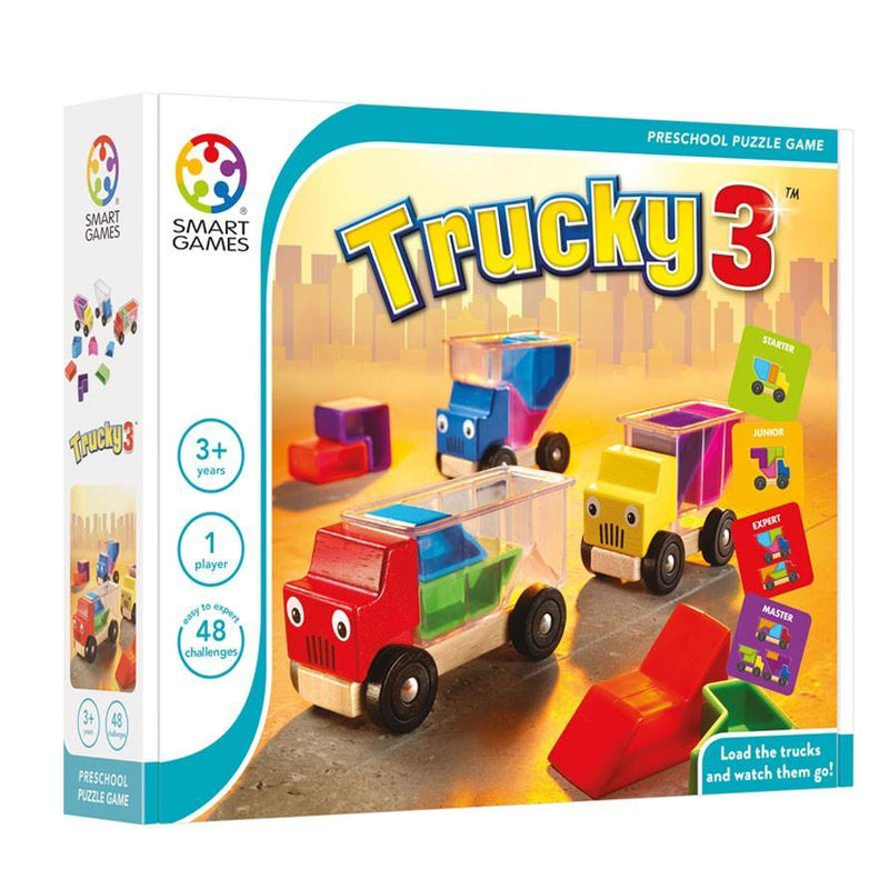 Joc Trucky 3 - Smart Games - copilaresti.ro