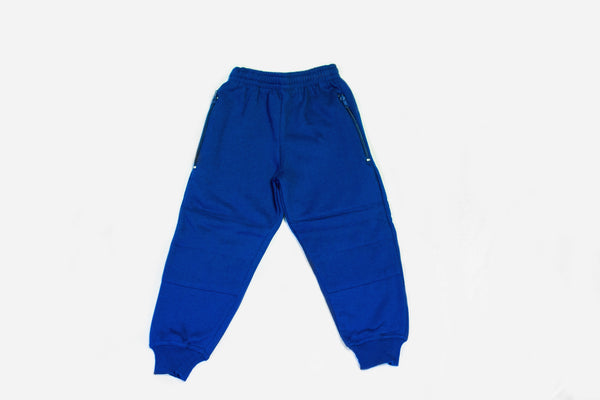 Track Pants Fleecy Double Knee Cuff