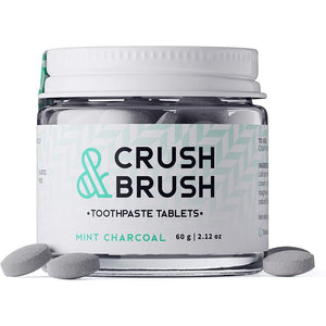 Crush Brush - Dentifrice Solide Charbon Menthe