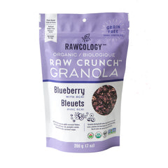 Rawcology Organic Blueberry with Acai Granola, 200g