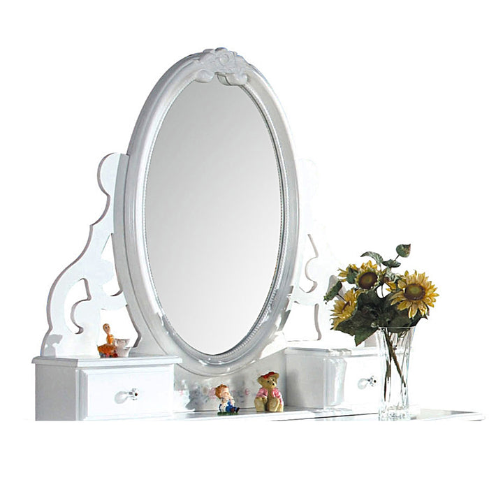 Flora White Mirror (Jewelry)