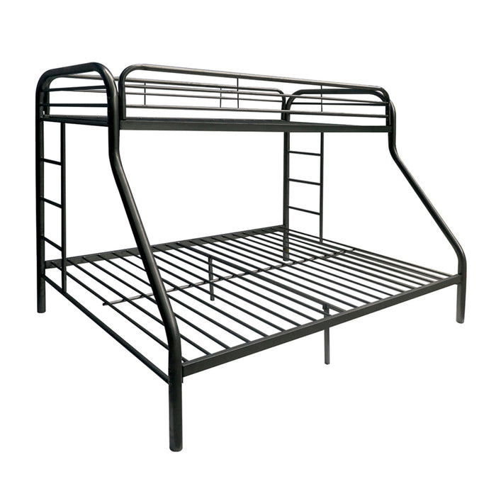 Tritan Black Bunk Bed (Twin XL/Queen)